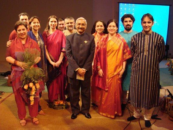 S Indijskim ambasadorom